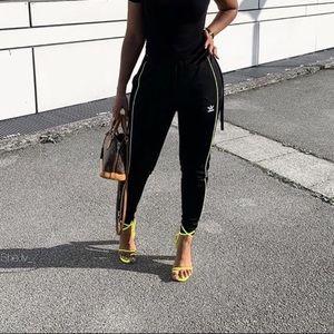 Adidas satin joggers